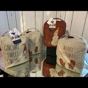 $19 each Rae Dunn Christmas Doorstop